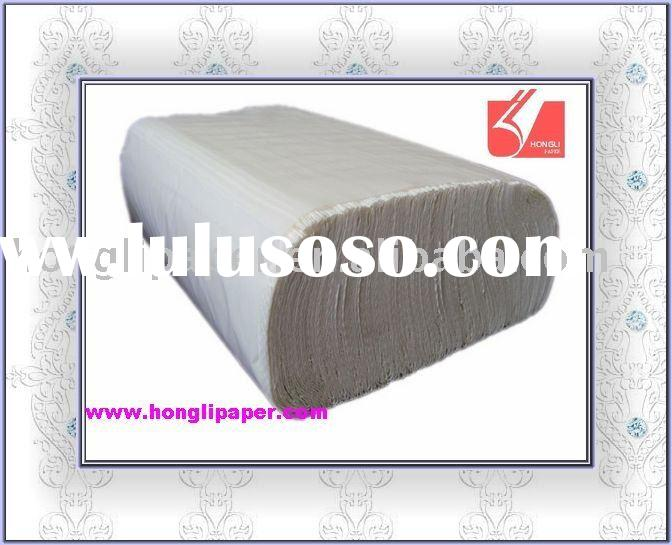 disposable N fold cleaning hand paper towel tissue