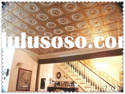 false ceiling tiles,decorative ceiling panels,Antique Metal Ceiling Tiles,suspended ceiling,CE,SGS,I