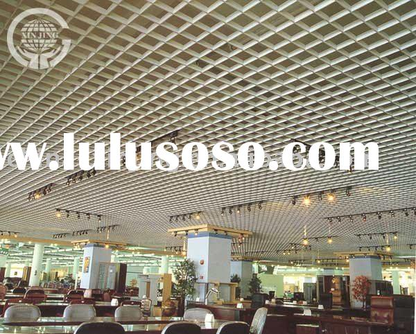 grid metal ceiling tile/grille ceiling board