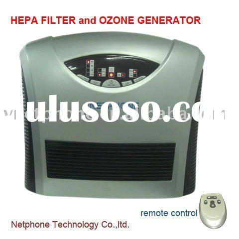 home Air cleaner with HEPA filter and ozone Generator