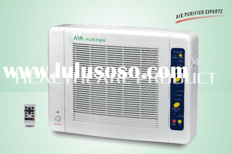home air purifier (HEPA+carbon filter+ozone+anion)