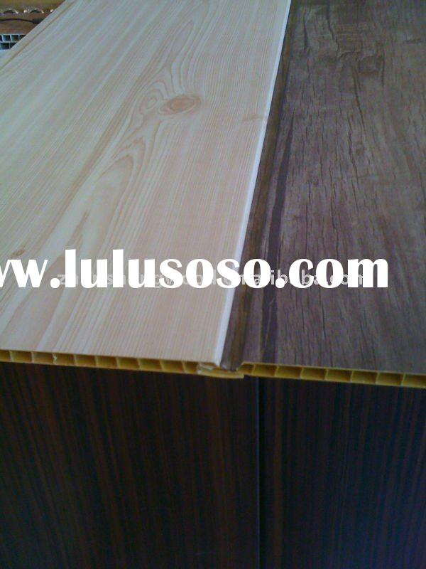 wood and pvc panel/pvc laminated wall panel