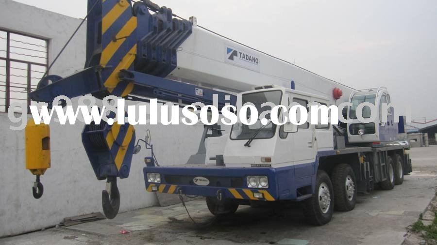 55TON Truck Cranes for sale,Used Crane ,Mobile Crane,Shanghai Yard