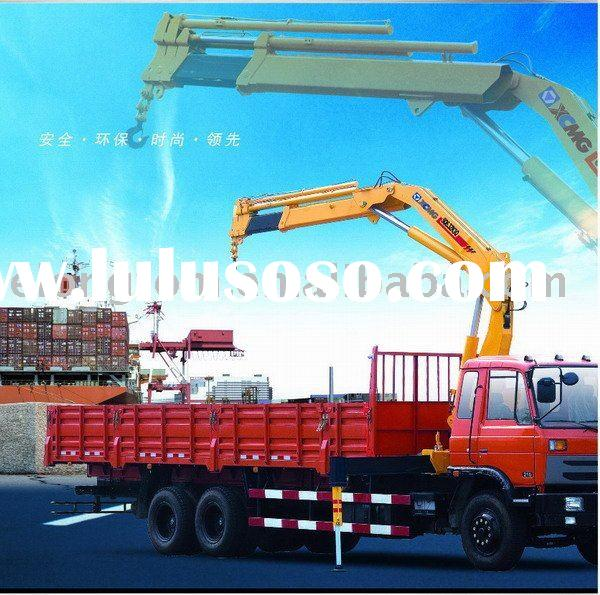 6 ton knuckle boom truck-mounted crane