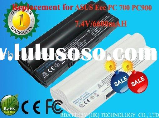 6cell Replacement Laptop Battery for ASUS AL22-703 Asus Eee PC 703 900A Series