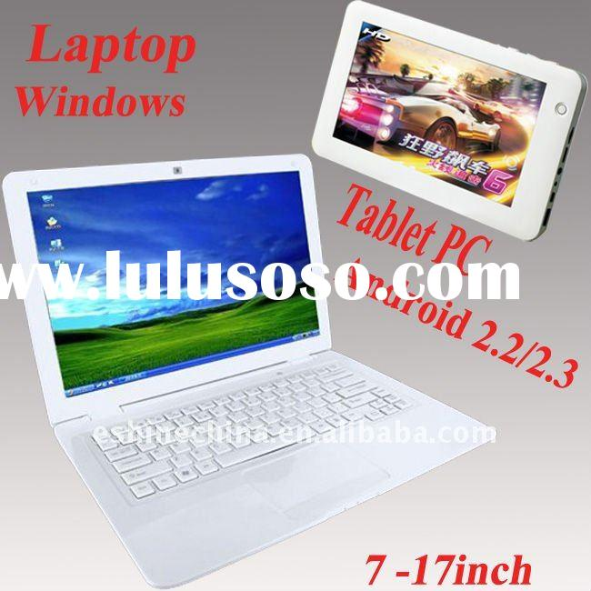 "7""-15"" Laptops/Notebook.  7""-10"" Touch laptops tablet pc from OEM factory"