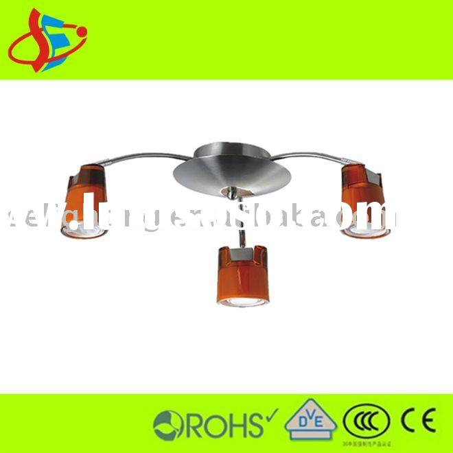 European orange galss energy-saving ceiling lamp (China manufacturer)