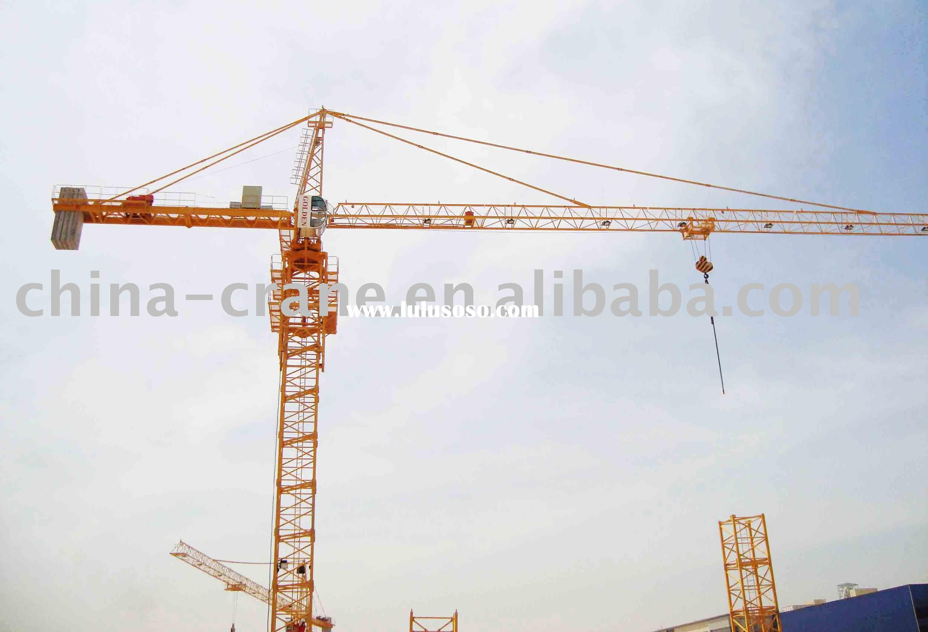 Golden tower crane model specification 5013.