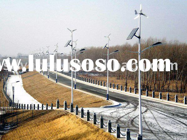 Off-grid wind and solar hybrid power supply system