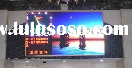 P7.62 indoor full color led display signs