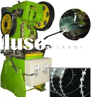 Razor Barbed Wire Mesh Machine(razor wire machine,barbed wire machine)