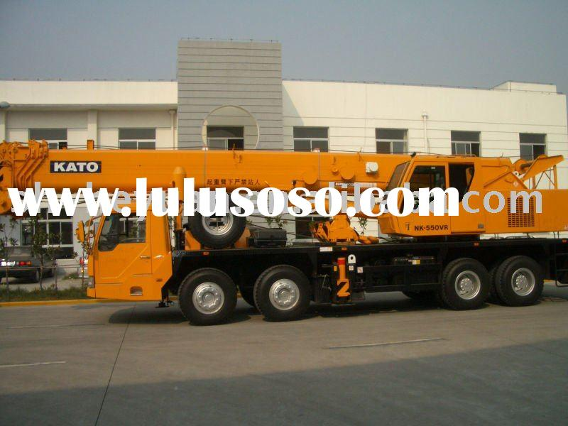 Used kato truck crane NK-550VR,original in Japan