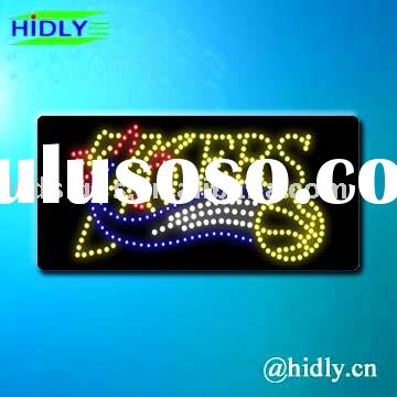 led message display/custom sign/window sign/word letter sign/fix word sign/signage/signboard