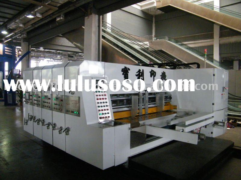 paper box printing and forming machine
