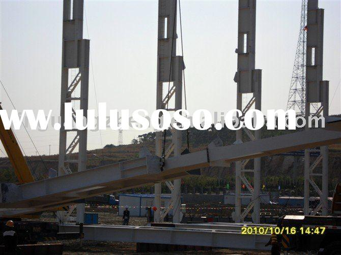 prefabricated light steel structure installation, warehouse & workshop design, installation
