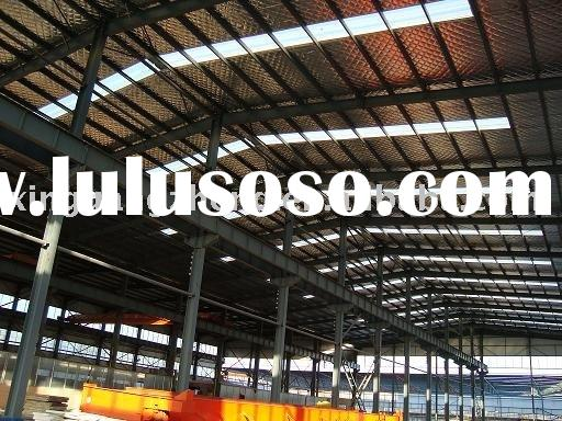 prefabricated light steel structure, warehouse & workshop design, installation
