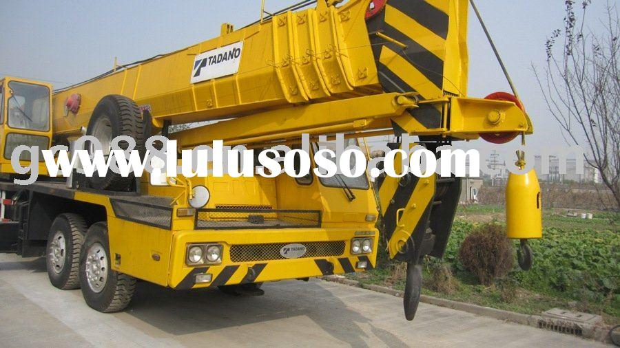 truck with crane,Tadano auto crane,lifting machinery
