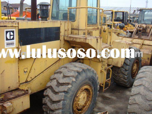used caterpillar wheeled loader 966D