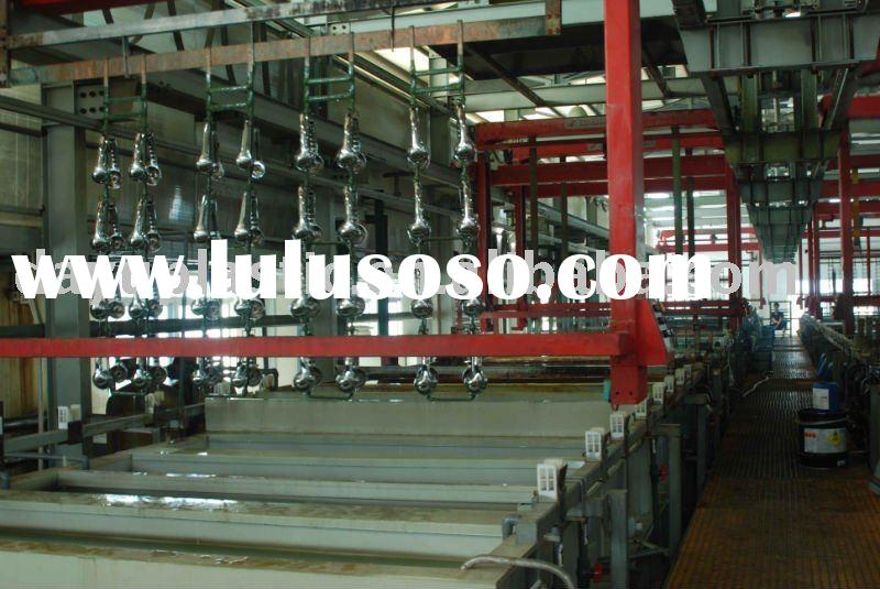 Automatical chrome plating service for plastic products