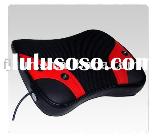 Carbon fiber far-infrared heat treatment to the massage cushion