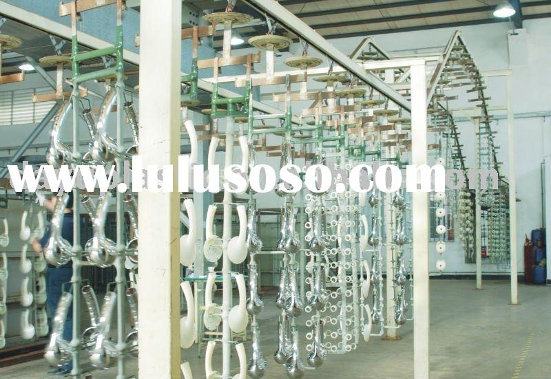 Chrome plating for the plastic products