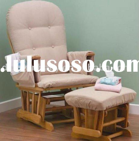 Dolphinbaby Classic Glider Chair and Footstool