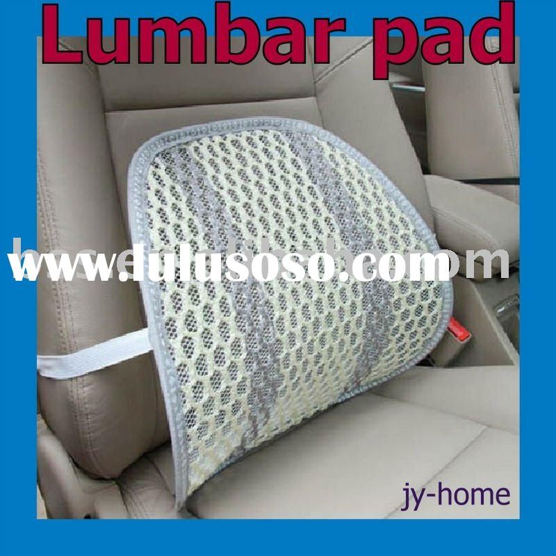 Home/office/car/school  black sitting SEAT CHAIR MESH BACK LUMBAR SUPPORT PAD Elastic cushion