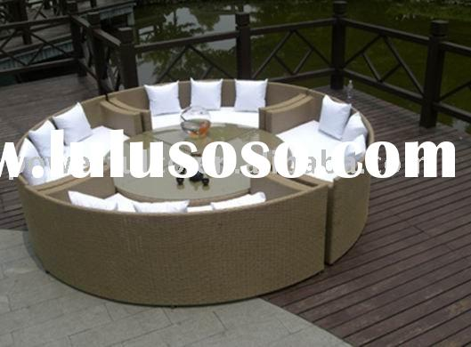 Rattan Round Table sets Rattan Round Table and chair