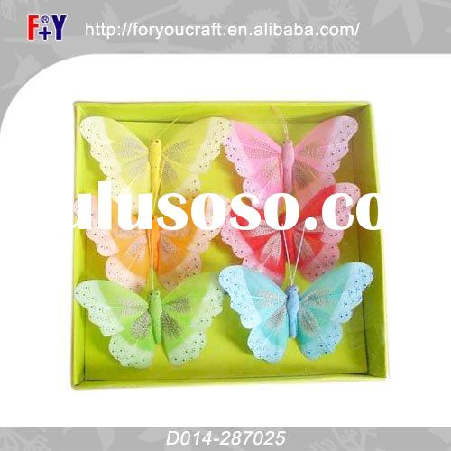 craft plastic butterfly clip