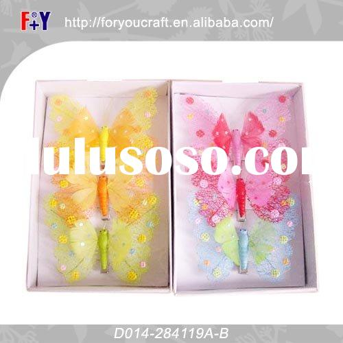 craft plastic butterfly kep design
