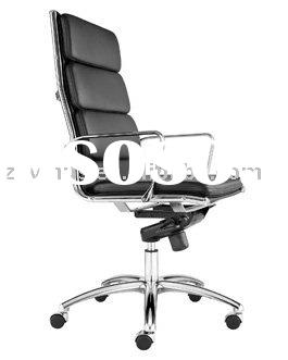 eames  office chair high-back leather(soft pad ,thinpad)