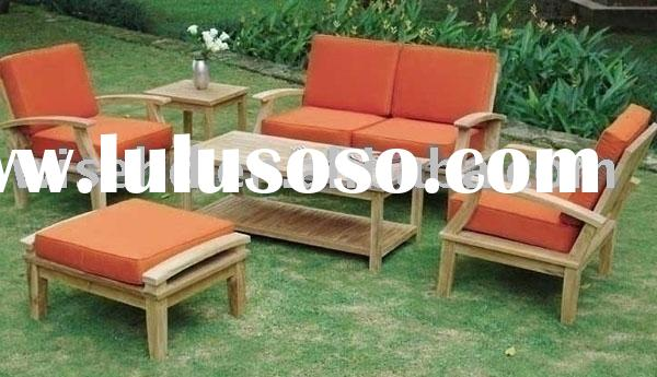 leisure chair set in wood