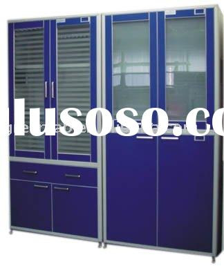 medical storage cupboard and laboratory equipment