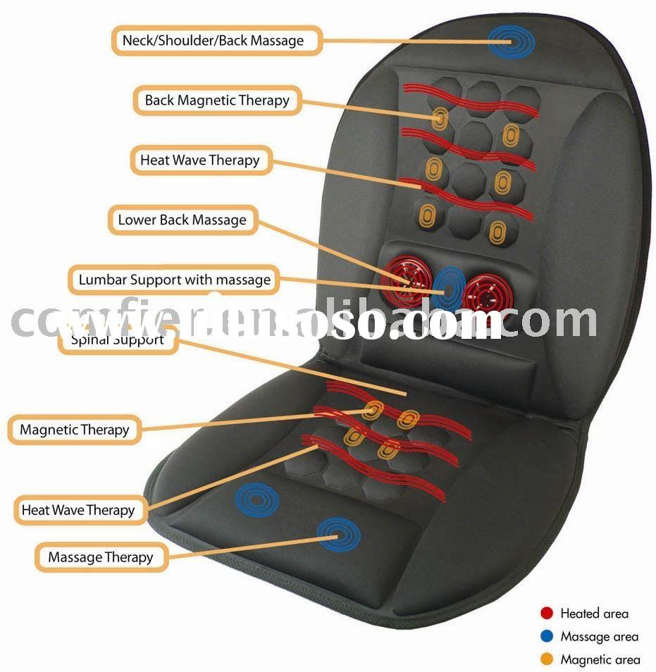seat massage cushion with bulb heat