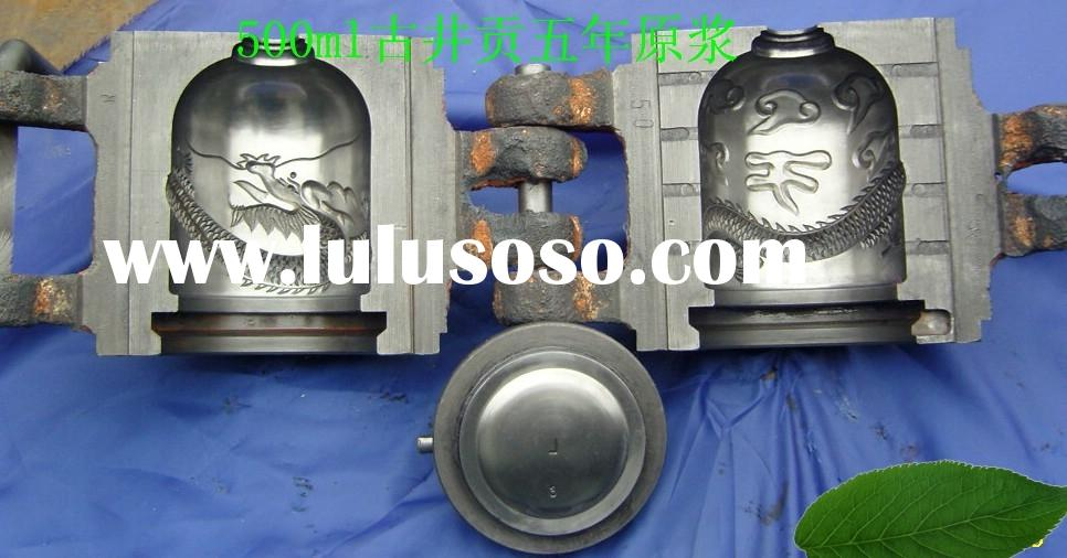 shougongji 500ml  gujinggong glass bottle mould