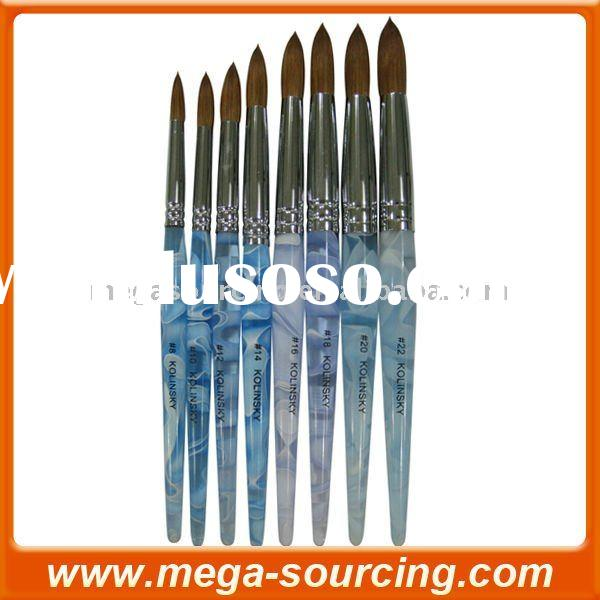 acrylic nail art brush, acrylic nail art brush Manufacturers in