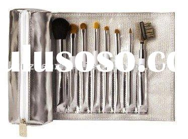 8 pcs makeup brush roll