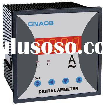 96*96 Digital AC Ammeter can add functions A meter current meters