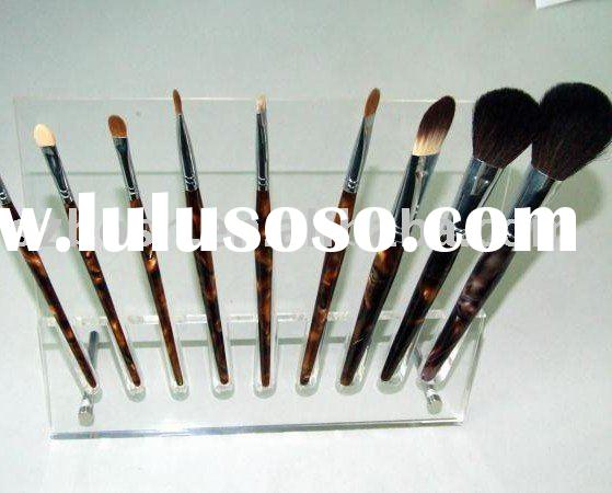 Acrylic Brush Holder, Plexiglass Cosmetic Stand, Perspex Makeup Display