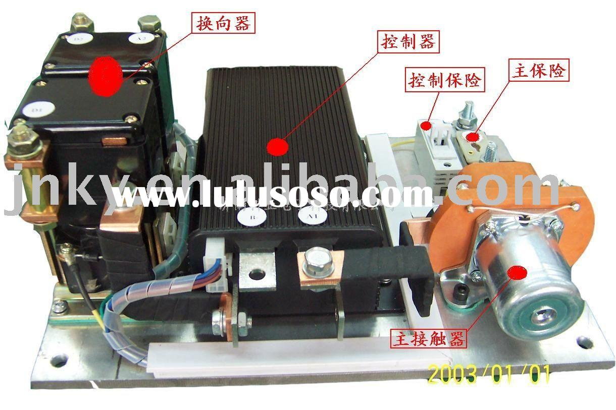 Assembly with Reversing Contactor/DC Motor Speed Controller Kit