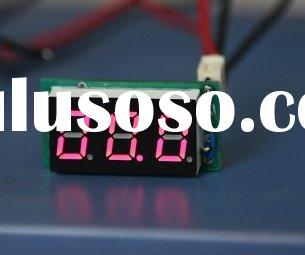 Car instrument (Major use in Audio of car)  display 999 (3digit) power supply DC12V measuring DC vol