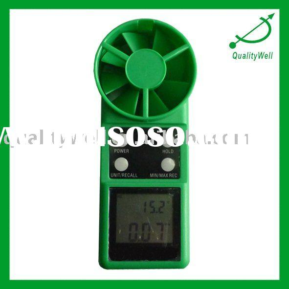 Digital Screen Display Thermo-Anermometer (Temperature Difference Wind Force and Velocity Measuring