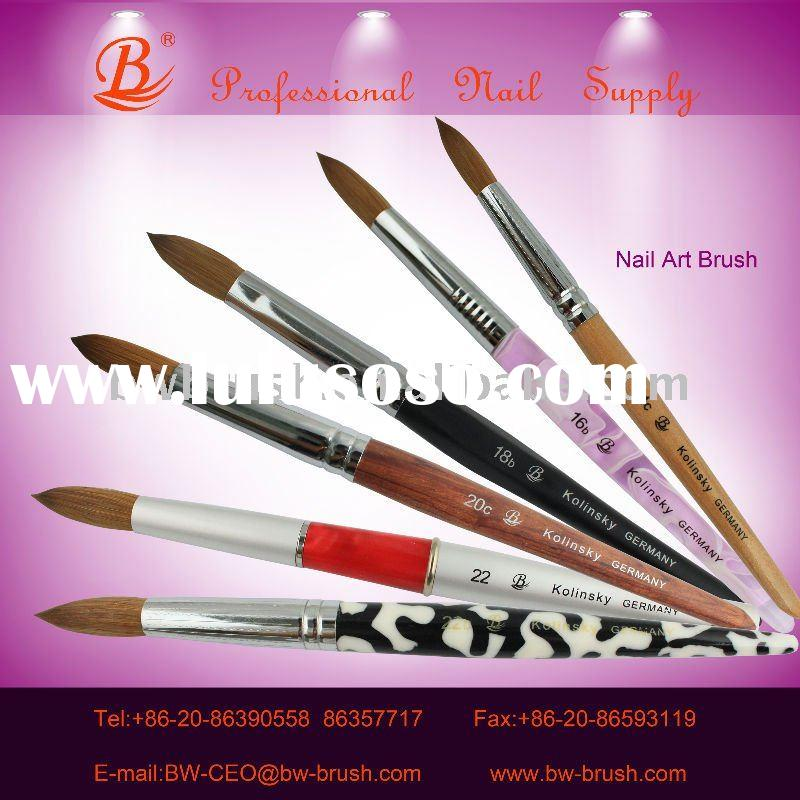 For Artists Use Pure Kolinsky Nail Brushes