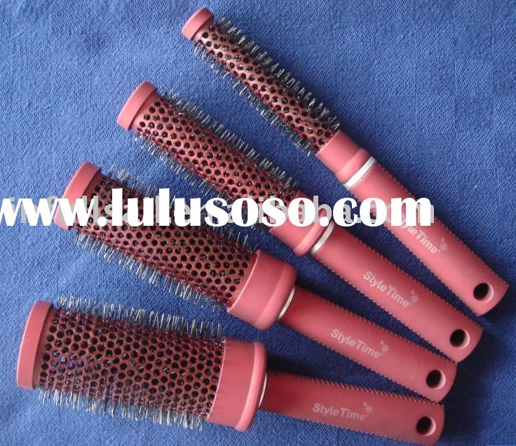 Hair Brush, Round Hair Brush, aluminum hair brush