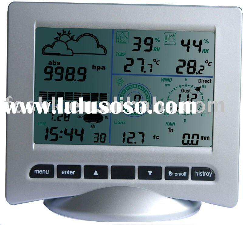 PROFESSIONAL WEATHER STATION WITH RADIO CONTROLLED TIME