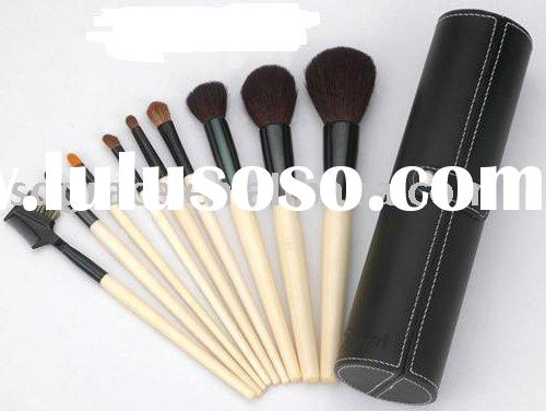 Professional Makeup Brush Set in a Pot Pouch