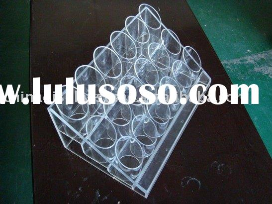 acrylic brushes holder, acrylic cosmetic brush display stand, acrylic makeup tool display stand
