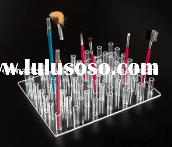 acrylic eyeliner pencil holder,make-up holder, cosmetic display stand,pencil brush holder