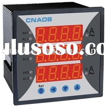three-phase ammeter Current combined meter 96*96 can add function ampere meter