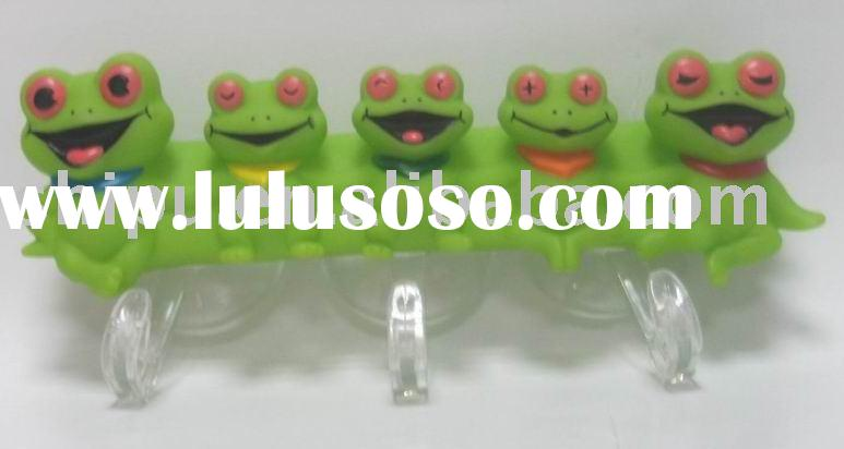 toothbrush holder Suction toothbrush holder in frog shape
